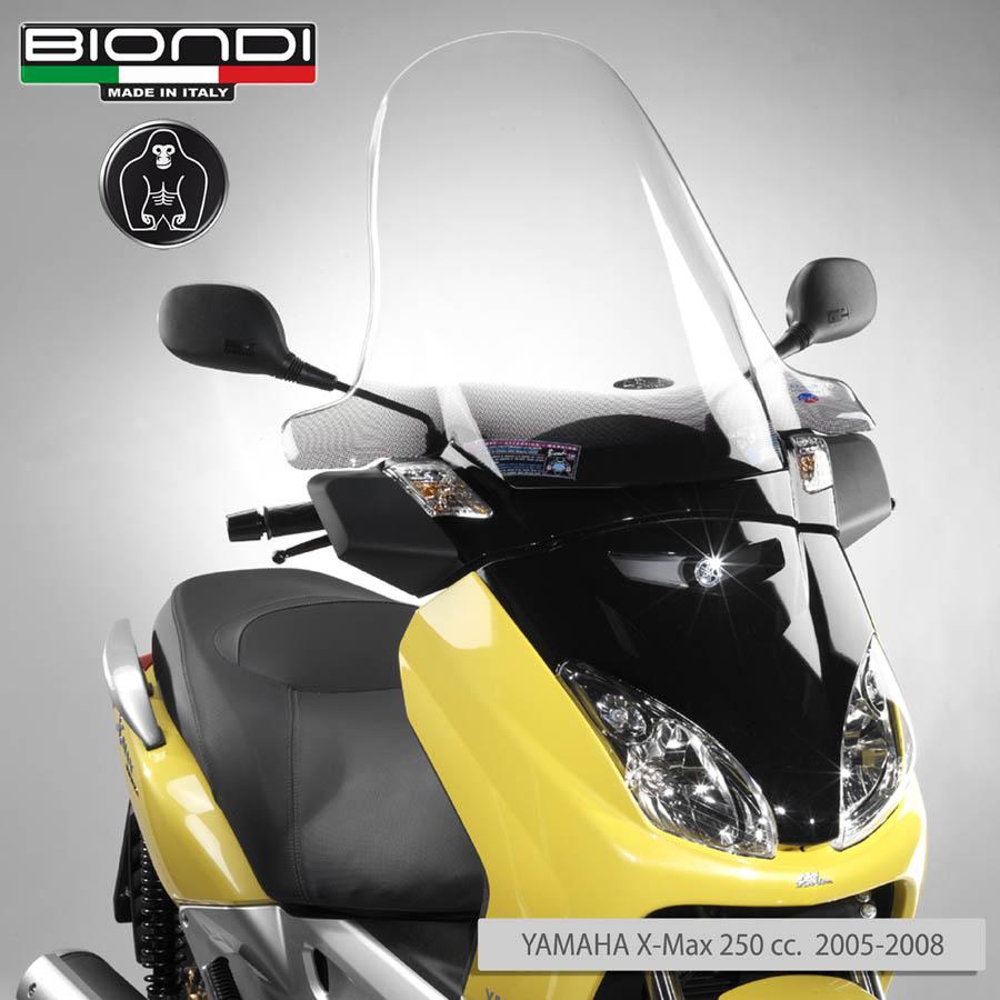 מתוחכם Windscreen for scooter Club Model (Mounting Kit Included) YAMAHA X FH-28