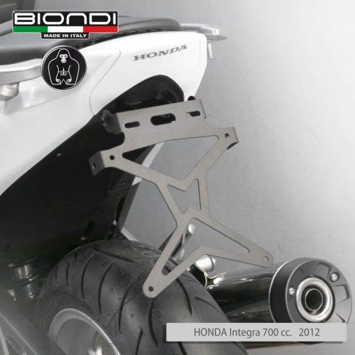 8901030 HONDA Integra 700 cc. 2012 Portatarga