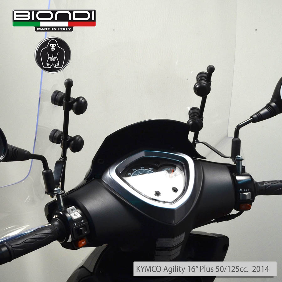 Mounting Kit for Screens - KYMCO Agility 16