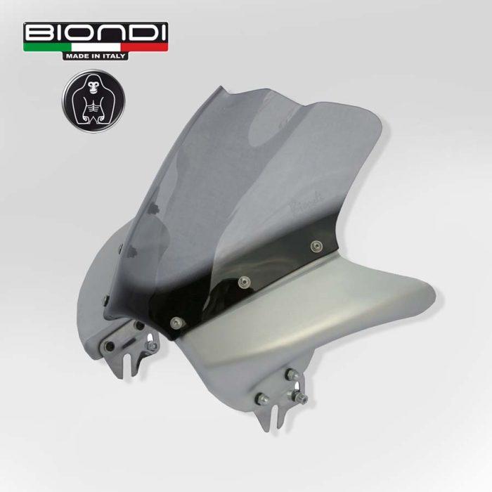 8010155 Cupolino Metal Dark Alluminio