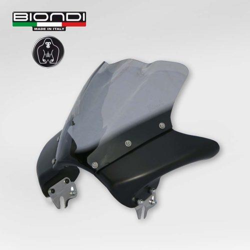 8010156 Cupolino metal Dark alluminio Nero