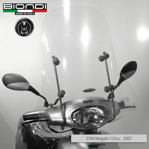 8060992 SYM Megalo 125cc. 2007