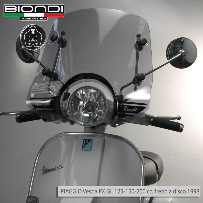 8061205 SIDE PIAGGIO Vespa PX GL 125-150-200 cc. freno a disco 1998