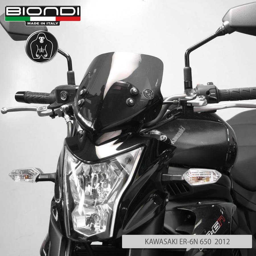 BIONDI Portatarga Regolabile per Kawasaki-ER-6n dal 2012