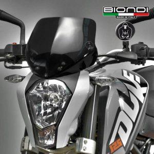 KTM Duke 125-200-390 cc. 2012